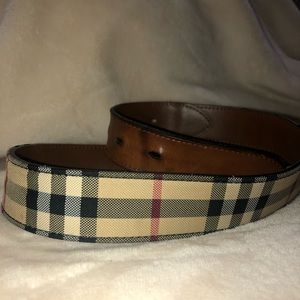 Men's Burberry belt, size 36/90